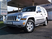 JEEP CHEROKEE 2.8 CRD SPORT 5DR 4X4, A/C, LEATHER, diesel