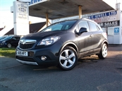 VAUXHALL MOKKA 1.7 CDTi 16V EXCLUSIVE FWD  5DR AUTOMATIC, A/C, diesel
